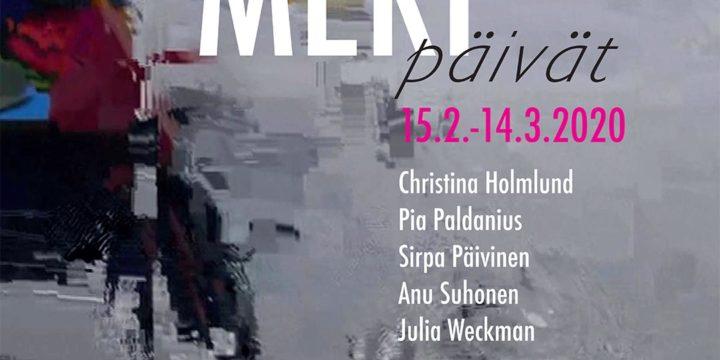 Julia Weckman mukana näyttelyssä Galleria Uusikuvassa, Kotkassa 15.2.-14.3.2020